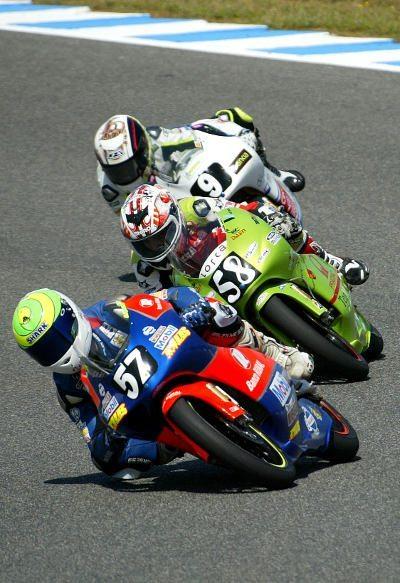 Depois de largar na terceira fila, sétima posição, o brasileiro não conseguiu tirar o melhor rendimento da sua moto e terminou a prova no décimo lugar