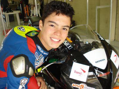 Eric estará este fim de semana novamente nos boxes de Interlagos