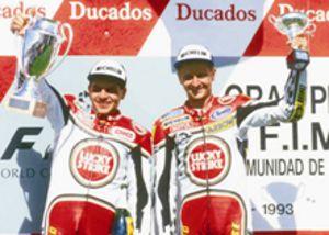 Barros e Schwantz: reedição da dupla de 1993 em São Paulo
