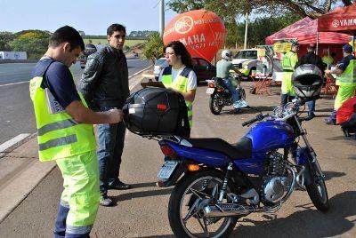 O cuidado com a saúde e a qualidade de vida do motociclista é outro destaque desta campanha.