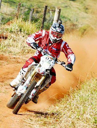Ike em ação no Rally Cuesta. Catarinense lidera o Brasileiro