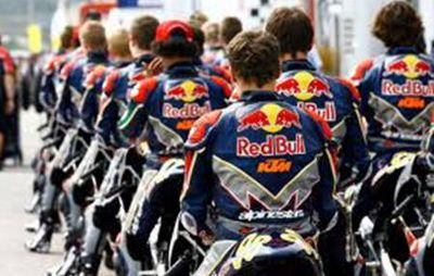 KTM se apoia Red Bull Rookies Cup