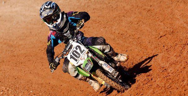 Djalminha Britto, piloto Brasil Racing, 65cc