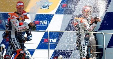 Andrea Dovizioso, piloto da equipe Repsol Honda RC212V na MotoGP
