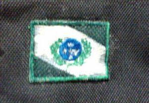 As supercolas deixam o patch endurecido, junto com o tecido da jaqueta