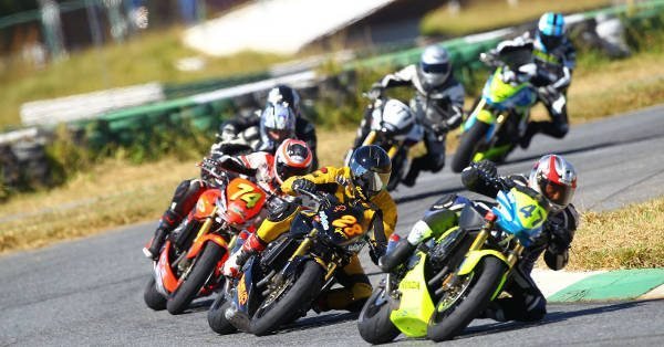 Motos da categoria 600 Hornet no Racing Festival