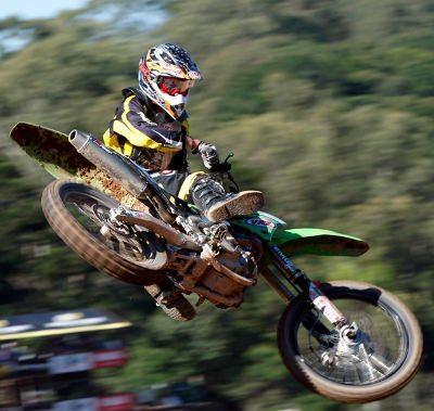 Dudu Lima venceu a MX2 e se aproxima da liderança na Copa SP de Motocross
