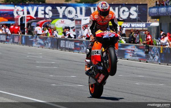 Os pilotos Honda somam já oito vitórias em 11 possíveis até ao momento em 2011, o que faz com que esta seja já a melhor temporada do construtor desde a introdução do limite de capacidade de 800cc no MotoGP.
