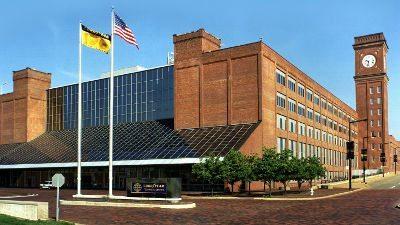 Innovation Center da Goodyear, localizado em Akron, Ohio, local onde será desenvolvido o pneu que torna calibragem desnecessária.