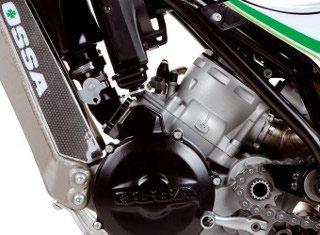 Ossa de Trial com motor 2T injetado