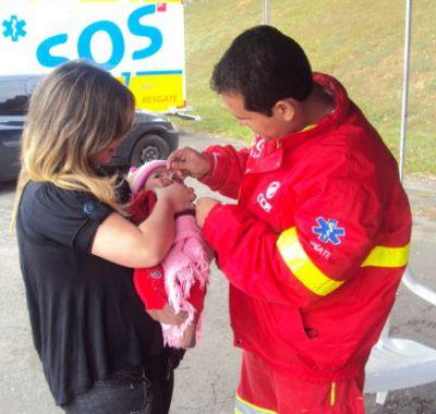 Campanha Nacional de Vacinação contra a Paralisia Infantil
