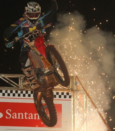 Roberto Castro, piloto satélite Honda na categoria Pró do Arena Cross