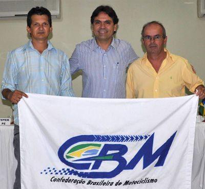 (Da esquerda para a direita): Juvenal Alves, Firmo Alves e Roberto Boettcher