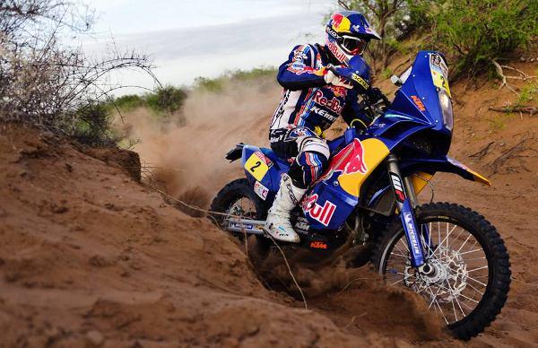 Cyril Despres e sua KTM