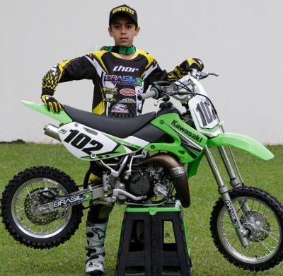 Djalminha Brito, atleta Brasil Racing