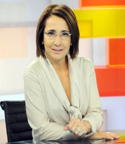 Apresentadora Maria Cristina Poli