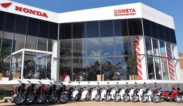 Fachada da nova loja em Campo Grande (MS)