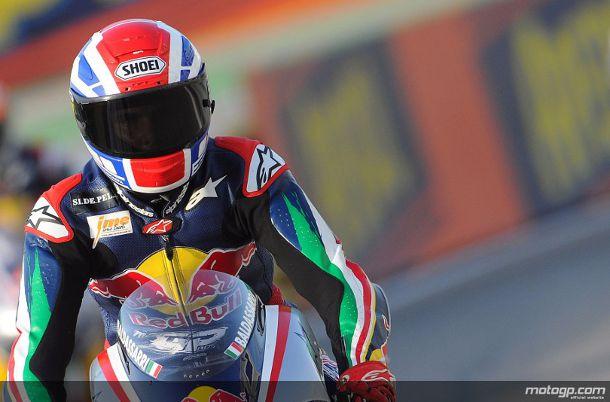 Lorenzo Baldassarri foi o grande vencedor da Red Bull MotoGP Rookies Cup 2011 com a conquista do terceiro lugar na última corrida do ano em Misano.