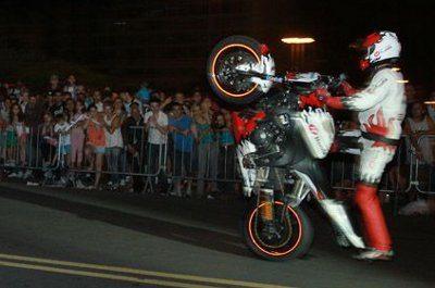 Show de Wheeling é uma das atrações