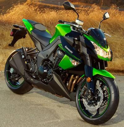 Uma das atrações da Kawasaki: Z1000
