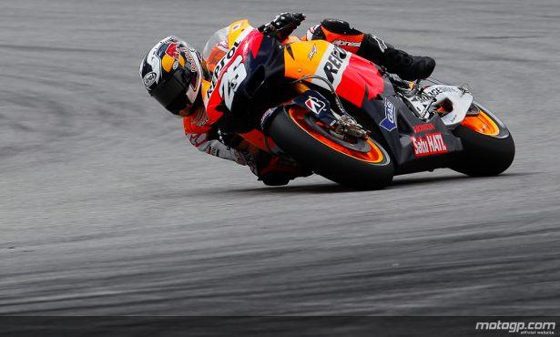 Dani Pedrosa encabeçou a primeira linha da grelha dominada pela Repsol Honda dando continuidade ao seu domínio no pelotão de MotoGP.