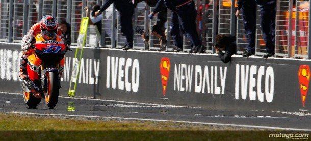 Casey Stoner, Repsol Honda, Phillip Island RAC