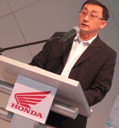 Akiyama: muitos motivos para comemorar os 40 anos de atividades da Honda