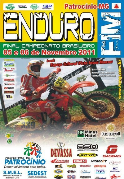 Enduro Fim 2011 - Cartaz