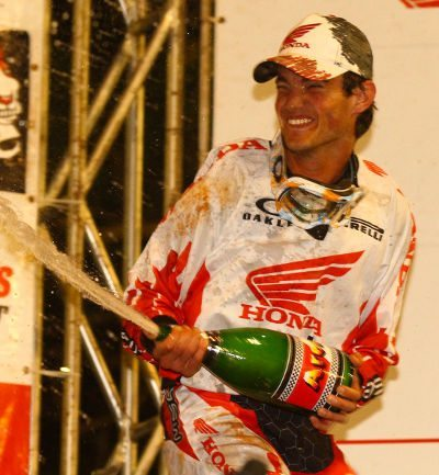 Jean Ramos, piloto da categoria Pró no Arena Cross