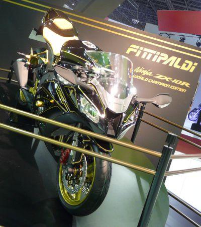 Ninja Fittipaldi comemora 40 anos do primeiro título mundial de F-1
