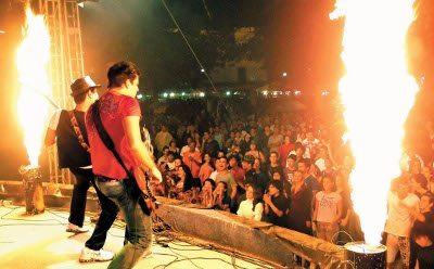 A banda Faixa Etária volta a levar o melhor do rock para Maricá (RJ).