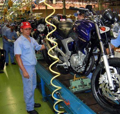 Montagem na Yamaha: PPB incentiva produtos com mais tecnologia