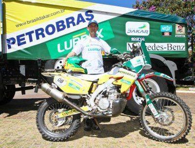 """""""Será um sonho realizado, todos almejam chegar um dia ao topo das competições, vencendo novos obstáculos"""", afirmou Deni, que fará a sua estreia no Dakar."""