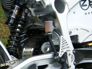 O motor funcionou bem até que parou; característica de eletrodoméstico