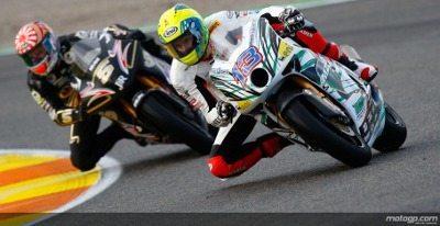 Eric terá como companheiro o francês Johann Zarco, que este ano correu na categoria 125cc do Mundial e foi vice-campeão.