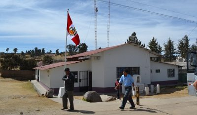 Fronteira da Bolivia com Peru e a aduana