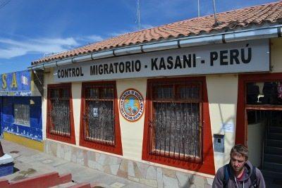 Fronteira entre Bolivia e Peru, migracão