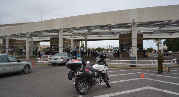 Fronteira entre o Peru e o Chile