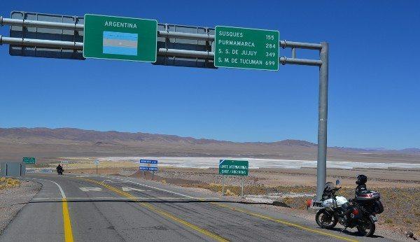Fronteira entre Chile e Argentina