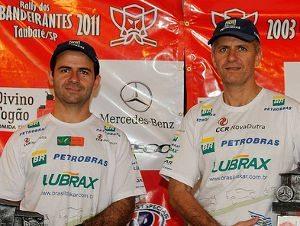Jean (esq) e André Azevedo: muita experiência em todas as categorias