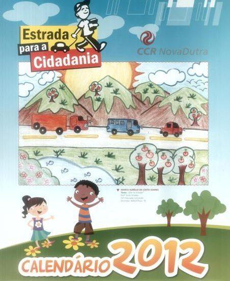 Calendário Estrada para a Cidadania 2012