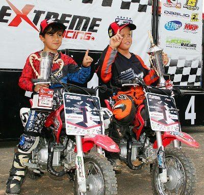 Lucas e Diogo campeões da CRF 50F