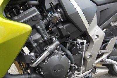 O motor é compacto e muito potente