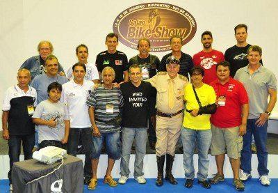 Pilotos veteranos presentes ao Bike Show do ano passado