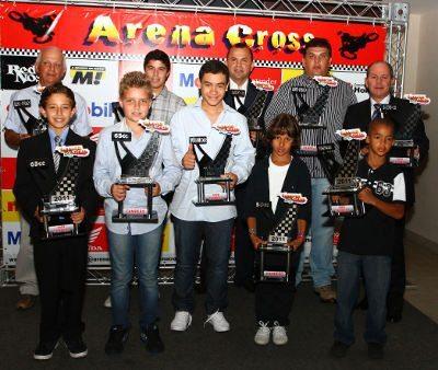 Todos os campeões do Arena Cross