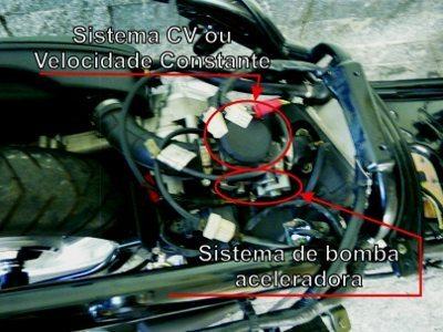 O carburador se utiliza de dois sistemas de aceleração para otimizar aceleração sem prejudicar emissões
