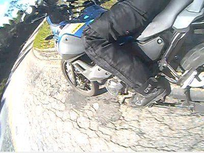 Ciclística bem comportada, em terreno quanto pior melhor