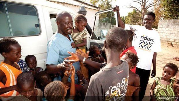 A primeira série de textos no blog de Álvaro Bautista, que está a participar no Riders for Health Experience Africa