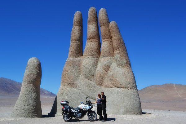 Mão do deserto Antrofagasta, Chile