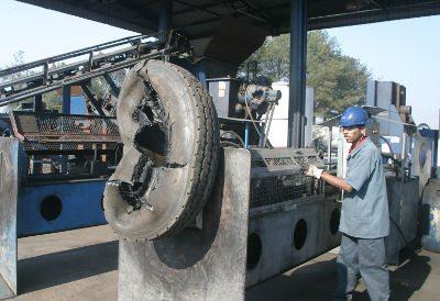 O processo de reciclagem do pneu é complexo e exige especialização